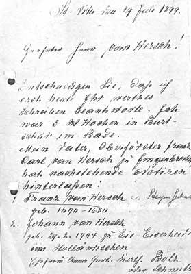 genealogie brief-1899
