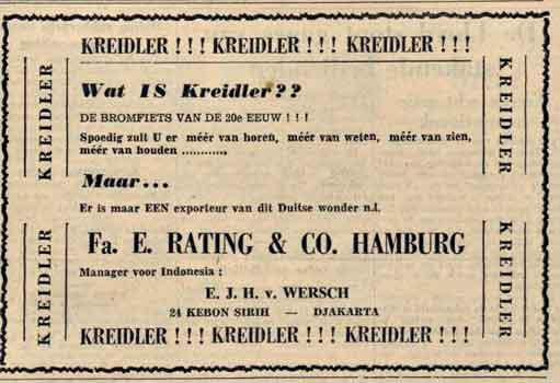 javabode-9-juni-1952