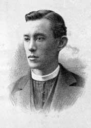 Arnold van Wersch op een herdenkingsprentje, uitgereikt aan de parochianen van Willimantic.