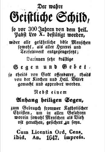 boekje 1647 geistlichen schild