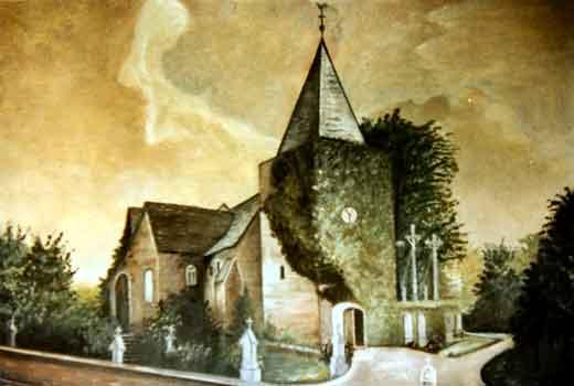 de kerk van Morken