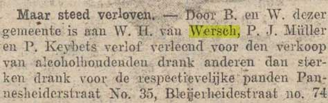 Willem hubert van wersch