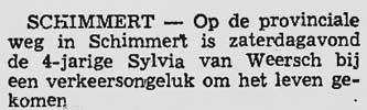 Sylvia van Weersch