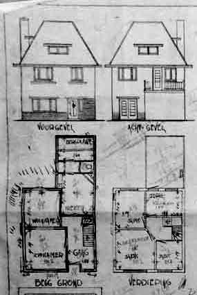 huisontwerp 1935 wersch