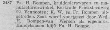 Van Wersch Rompen