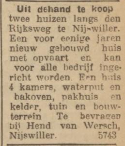 wersch, weersch lim koerier 3 april 1920