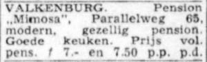 mimosa telegraaf 30 mei 1960