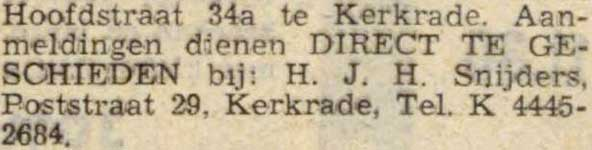 snijders-1956