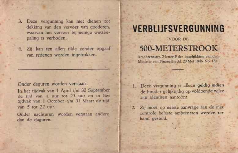 verblijfsvergunning 1946