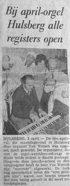 jacques van wersch organist