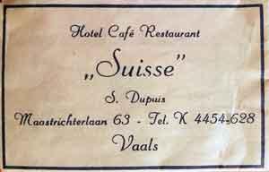 hotel suisse vaals