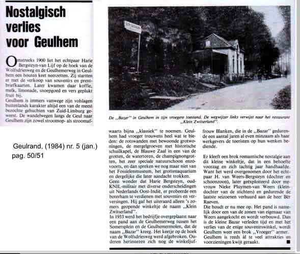 Geulrand klein Zwitserland