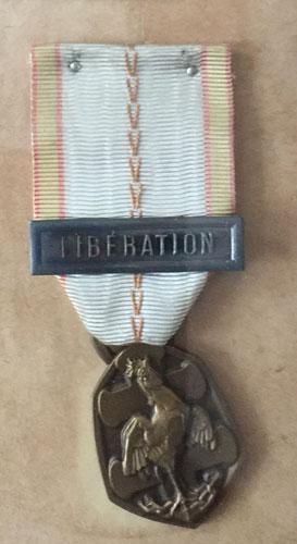 medaille commemorative française de la guerre