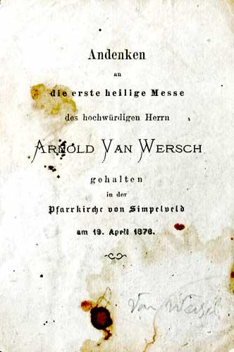 arnold van Wersch