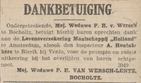 Limburger Koerier februari 1922