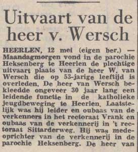 Willem van Wersch