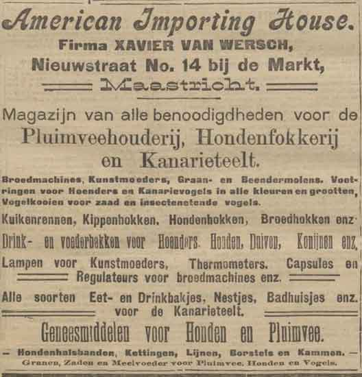 American importing house