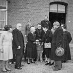 Met zijn familie op Hommerich