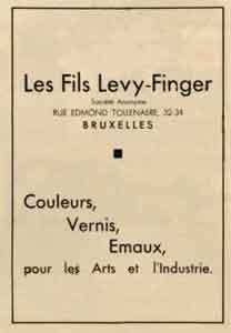 levy finger 1935