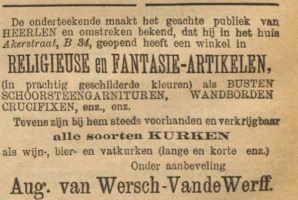 akerstraat 1895