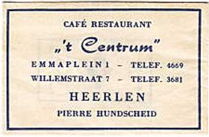 cafe 't centrum Heerlen