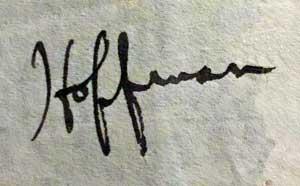 handtekening hoffman hays