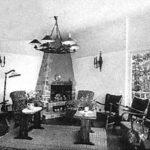 Salon van het hotel in 1963