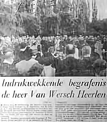 begrafenis Fer Van Wersch§