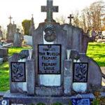 Het graf van N.N. Fagnant in Laroche, de eerste vrouw van Jean Louis Vanwersch.
